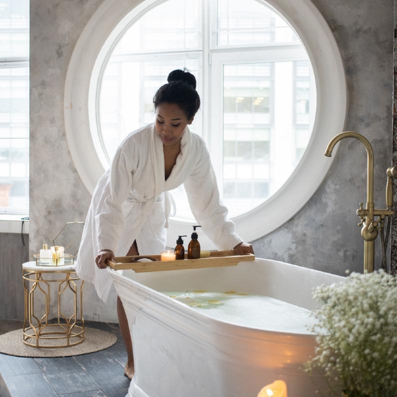 Aromatherapy for Bath