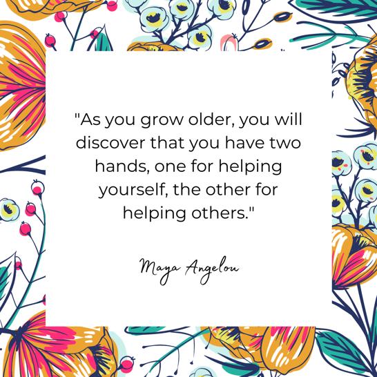 Maya Angelou favorite quote