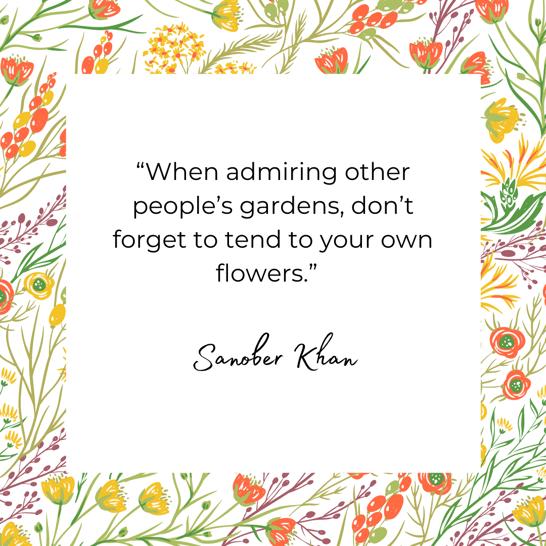 Sanober Khan quote