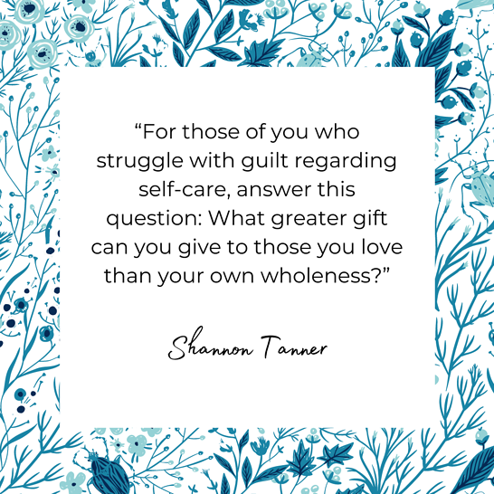 Shannon Tanner quote